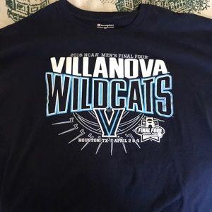 Villanova 2016 final four T-shirt